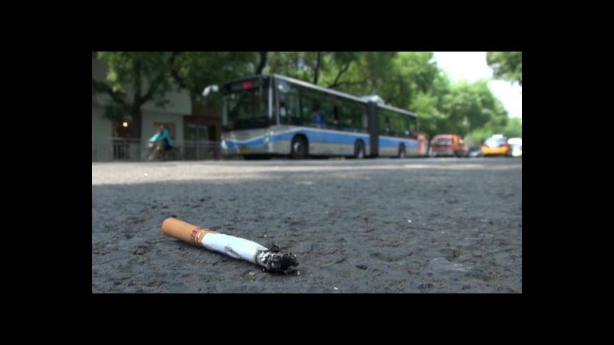 Video Čínské tažení proti kouření