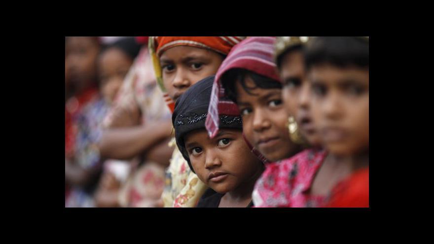 Video Redaktorka ČT: Barma nechce problém s Rohingy řešit