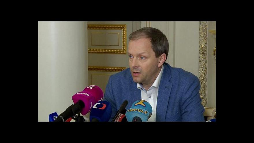 Video Události: Na Hrad už dorazila žádost na Chládkovo odvolání