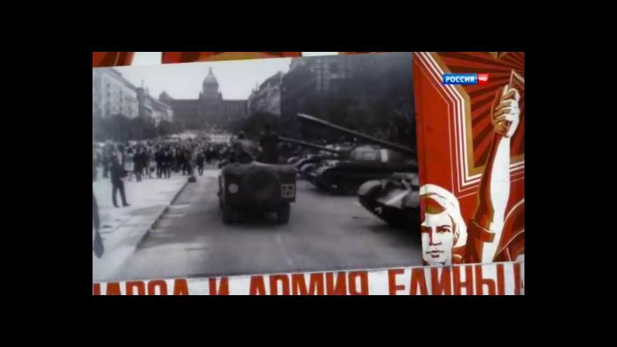 Video Ruský dokument o srpnu 1968