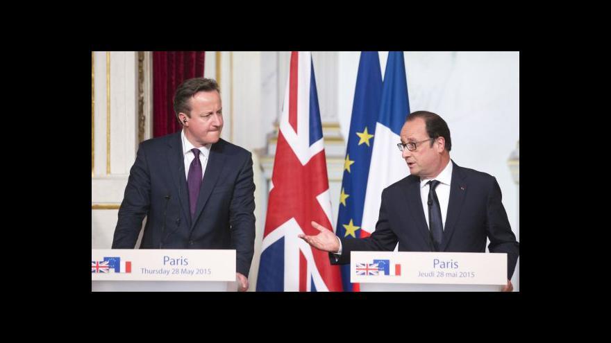 Video Cameron přesvědčuje Evropu o nutnosti reforem EU