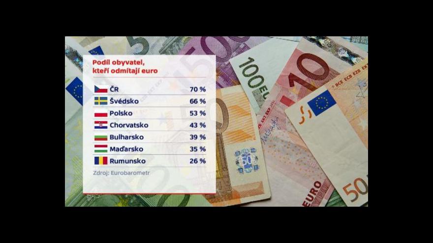 Video Speciál ČT24: Lánská schůzka k euru