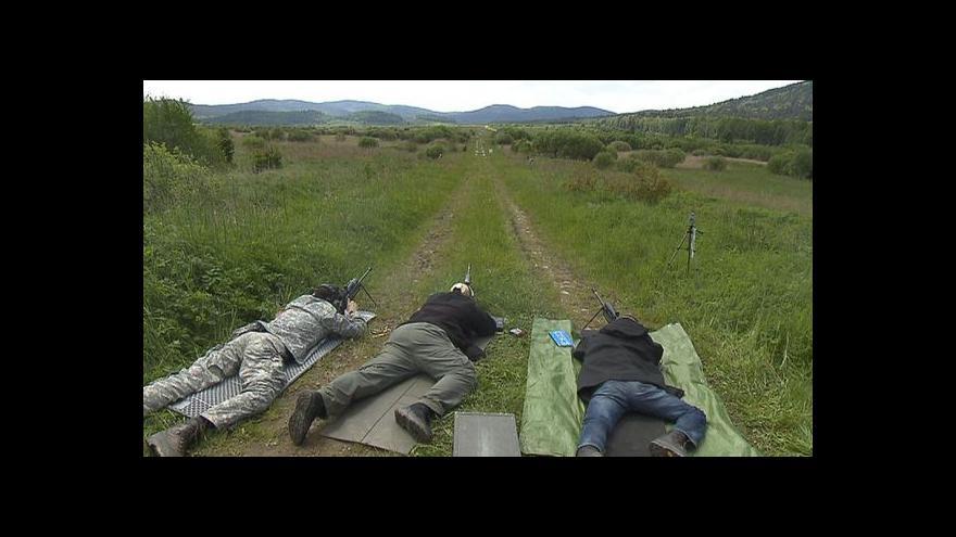 Video Na tréninku s hradními odstřelovači