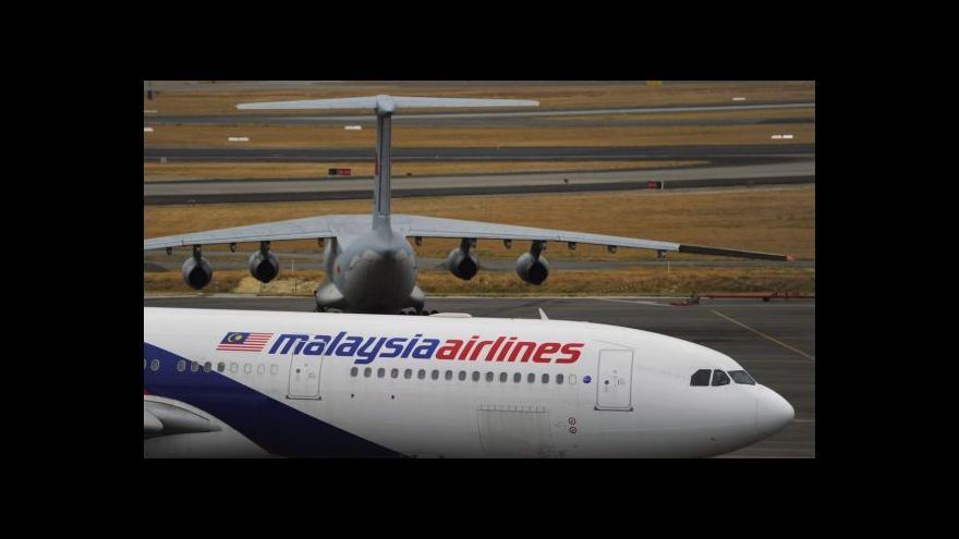 Video Malajsijské aerolinky ohlásily bankrot