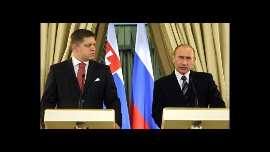Video Fico v Moskvě: Kritik sankcí upřednostňuje dialog