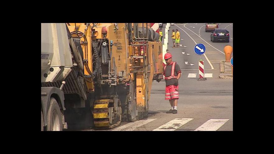 Video Dopravní komplikace na Vysočině a jižní Moravě