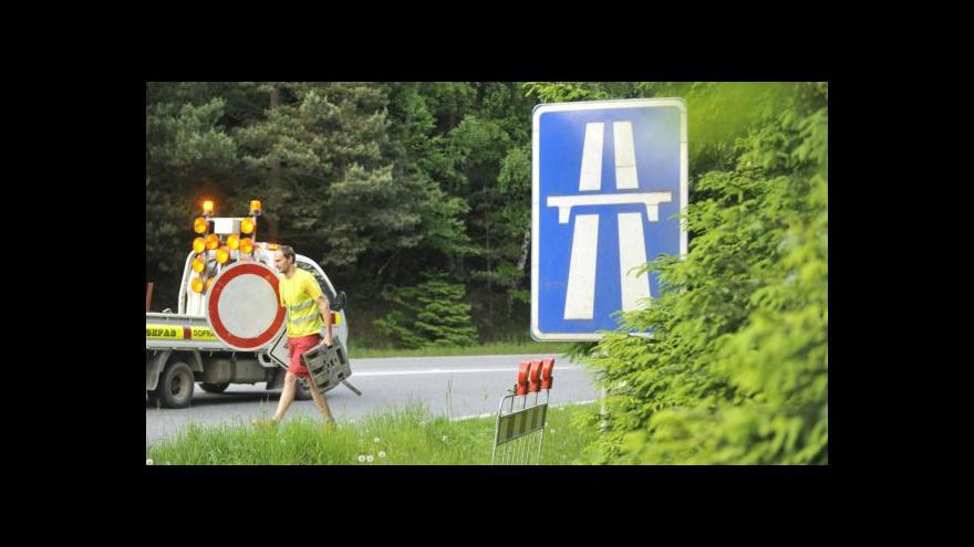 Video UDÁLOSTI: Vysočinské uzavírky zkomplikují cestu na jih