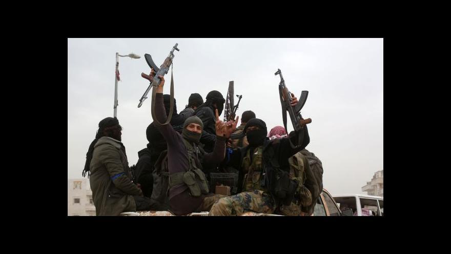 Video Zpravodaj ČT k údajné dohodě Damašku s IS
