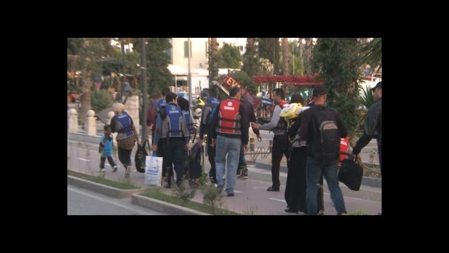 Video Štáb ČT mezi uprchlíky na Kosu