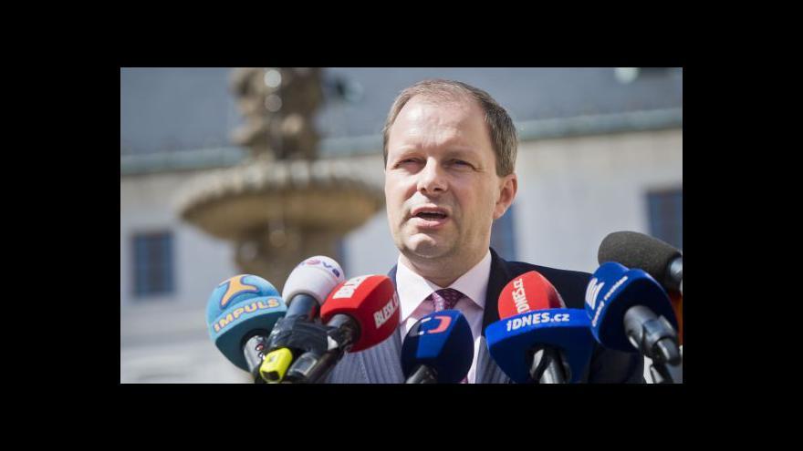 Video Prvním úkolem nového ministra bude jmenování profesorů
