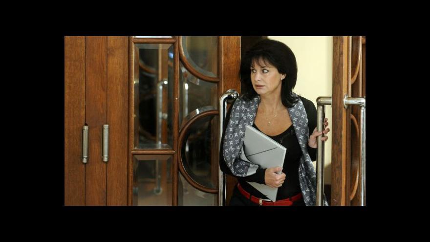 Video Vesecká připravuje ústavní stížnost kvůli zásahu policie na ERÚ