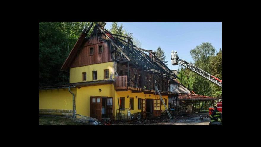 Video Události: Při požáru zemřeli dva lidé