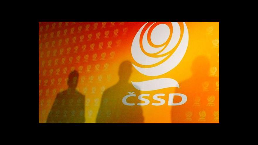 Video Brífink po jednání širšího vedení ČSSD