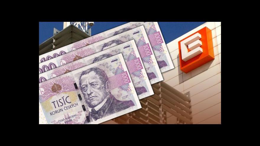 Video Ekonomika ČT24: O dividendách i odměnách rozhodují akcionáři