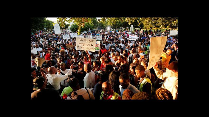 Video Texas protestuje proti policejní bruitalitě