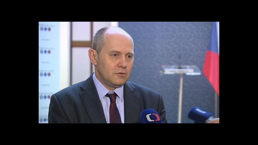 Video J. Postránecký: Ministři se dohodli, spory jsou odstraněny