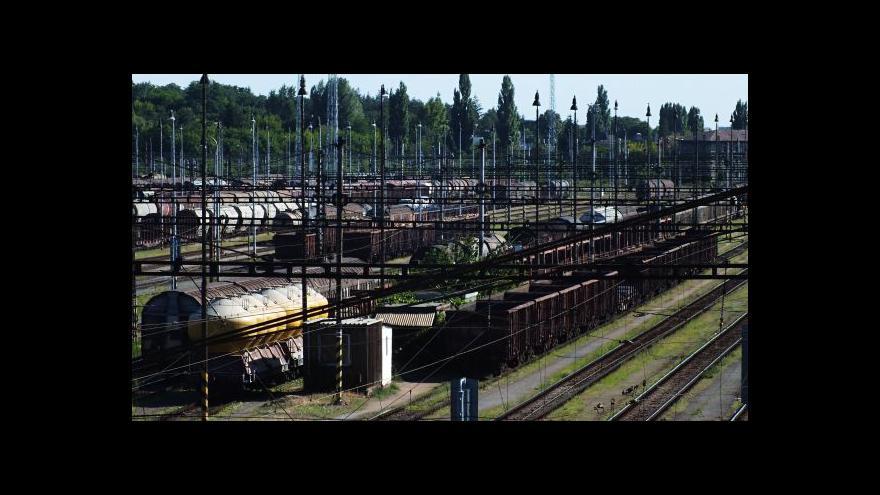 Video Železniční výluka na jižní Moravě