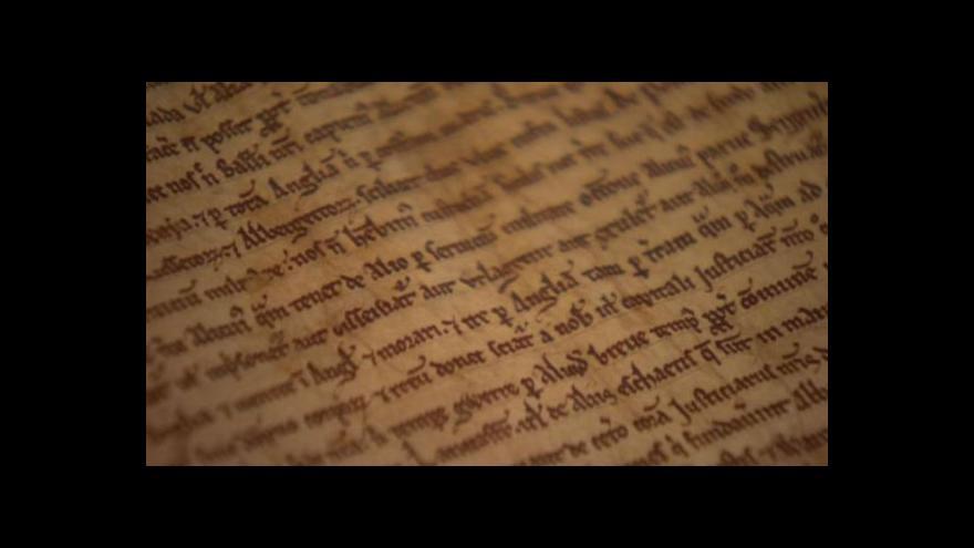 Video Magna charta libertatum slaví 800 let