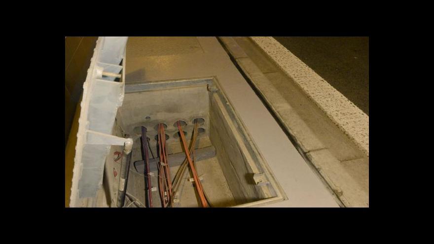 Video Výměna kabelů v Blance začala