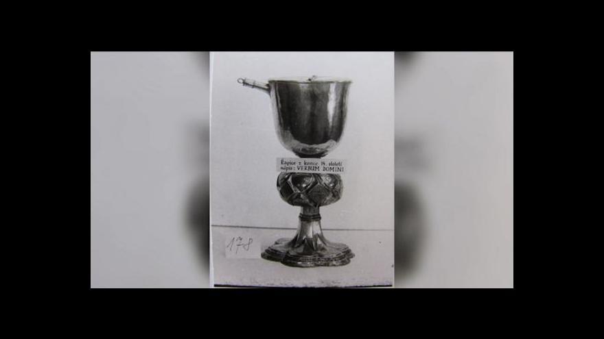 Video Z muzea zmizelo 9 tisíc exponátů včetně kalichu a zpěvníku