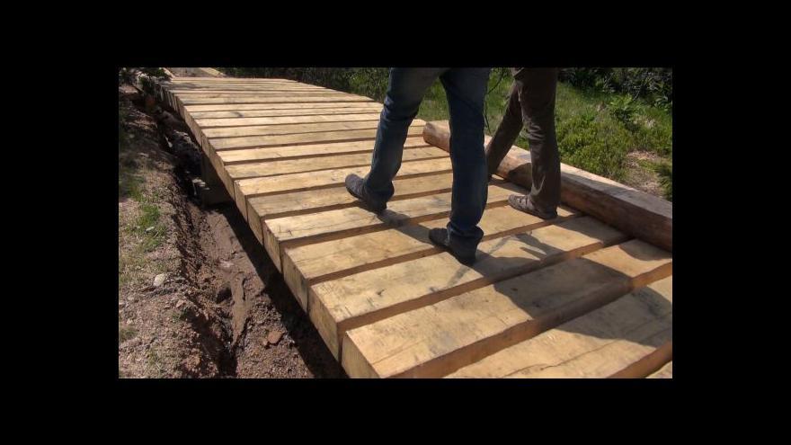 Video Nový povalový chodník na cestě k Pančavskému vodopádu