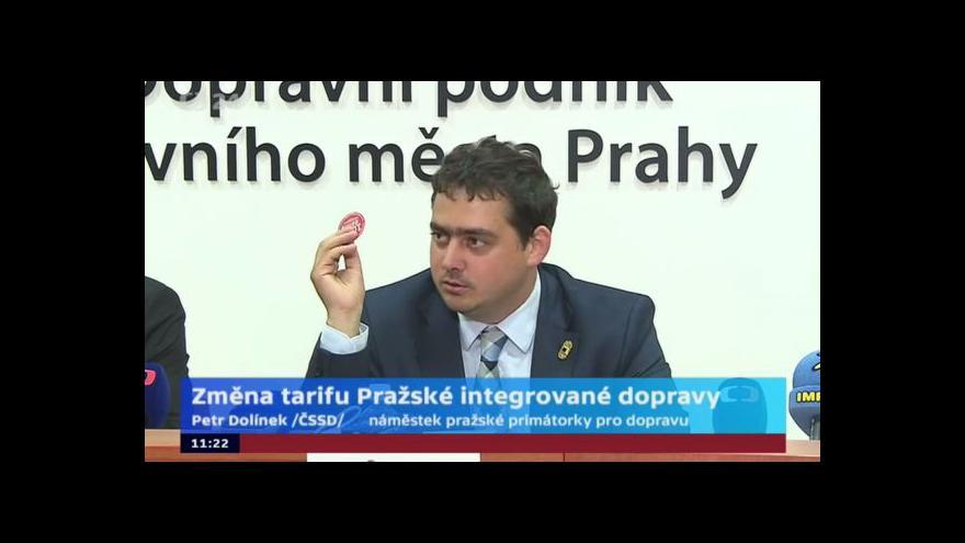 Video Brífink DPP: Ode dneška si Pražané mohou koupit levnější roční kupony