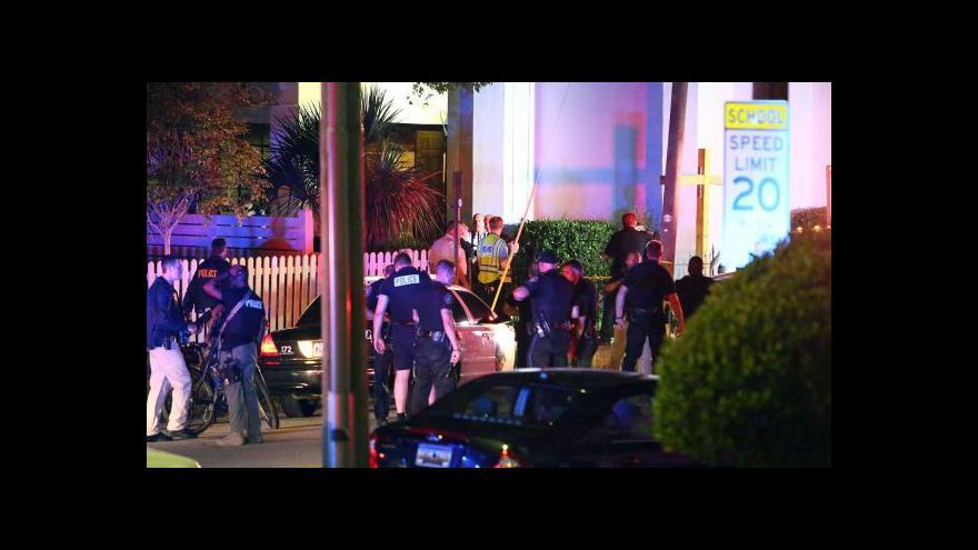 Video Devět mrtvých po střelbě v charlestonském kostele