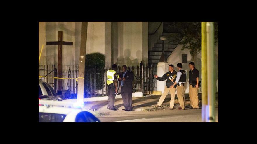 Video Policie dopadla možného útočníka z Charlestonu