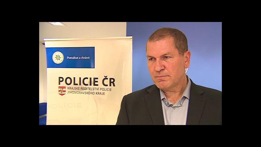 Video Kriminalista Antonín Hrdlička o dopadení  Lukáše Minaříka