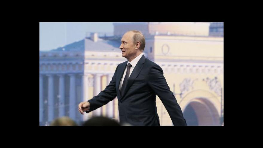 Video Sankce jsou podle Putina novou šancí pro Rusko