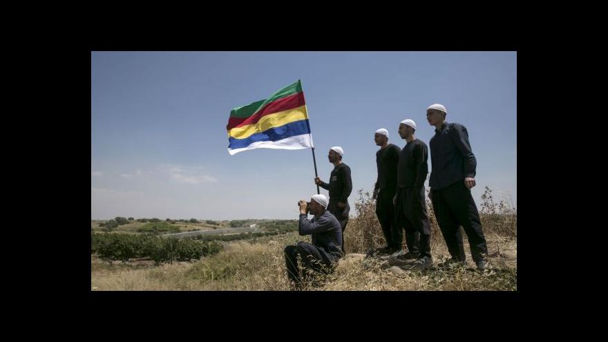 Video Drúzové tlačí na Izrael kvůli hrozbě islamistů