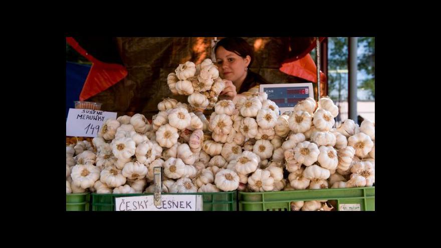 Video Ovoce a zelenina vypěstovaná v Česku je stále žádanější