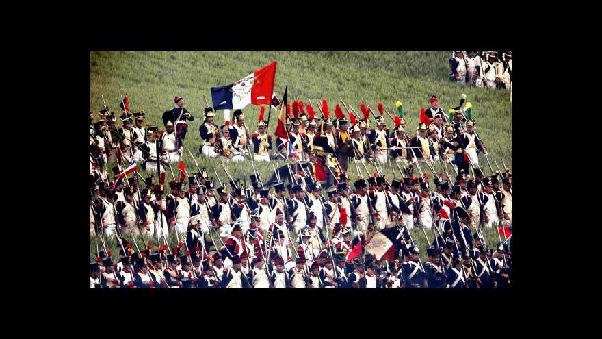 Video Končí oslavy 200. výročí Napoleonovy porážky u Waterloo