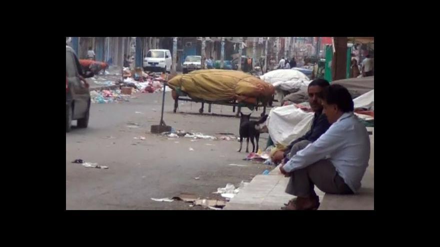 Video OSN vyzývá k poskytnutí humanitární pomoci pro Jemen