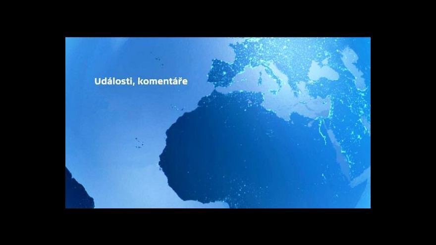 Video Kmoníček: Zaměřit se máme i na Blízký východ
