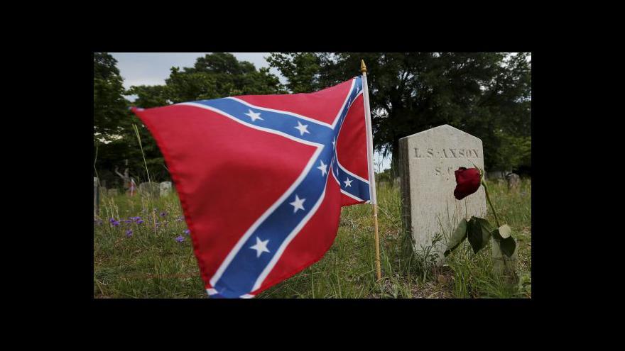 Video V USA se rozhořel předvolební boj o konfederační vlajku