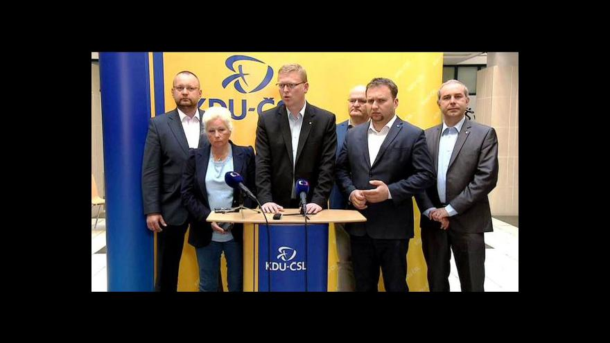Video Bělobrádek: Situace v koalici by se měla uklidnit