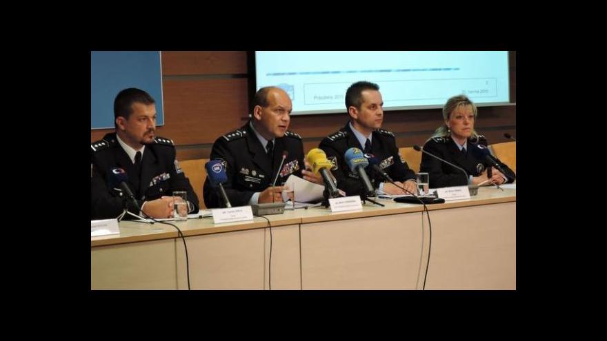 Video Tisková konference o prázdninových policejních opatřeních