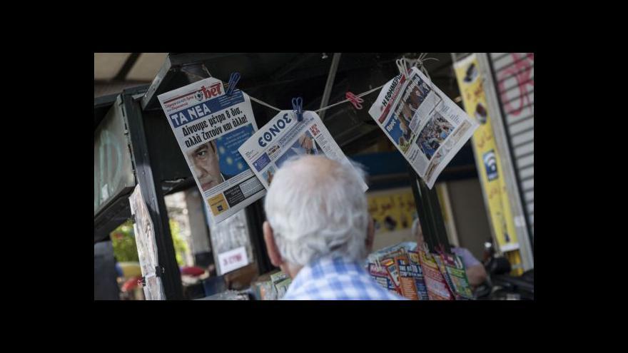 Video Řecko v pasti?