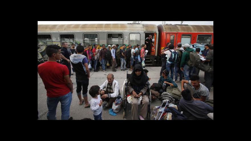 Video Události k uprchlíkům: Maďarsko a balkánská cesta