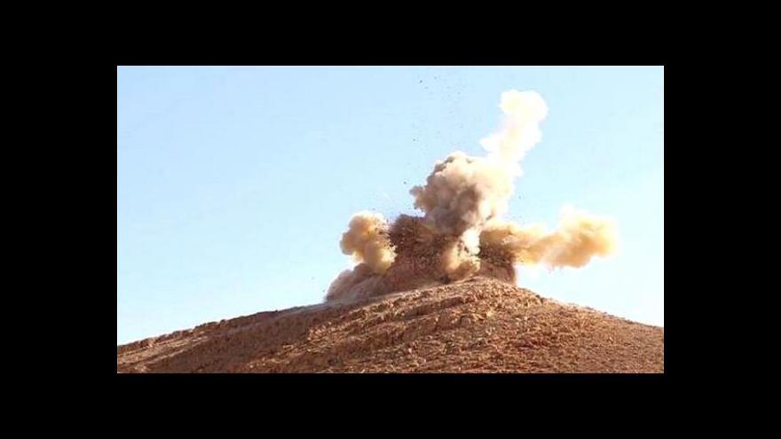 Video Zpravodaj ČT: U Palmýry se zřejmě schyluje ke střetu