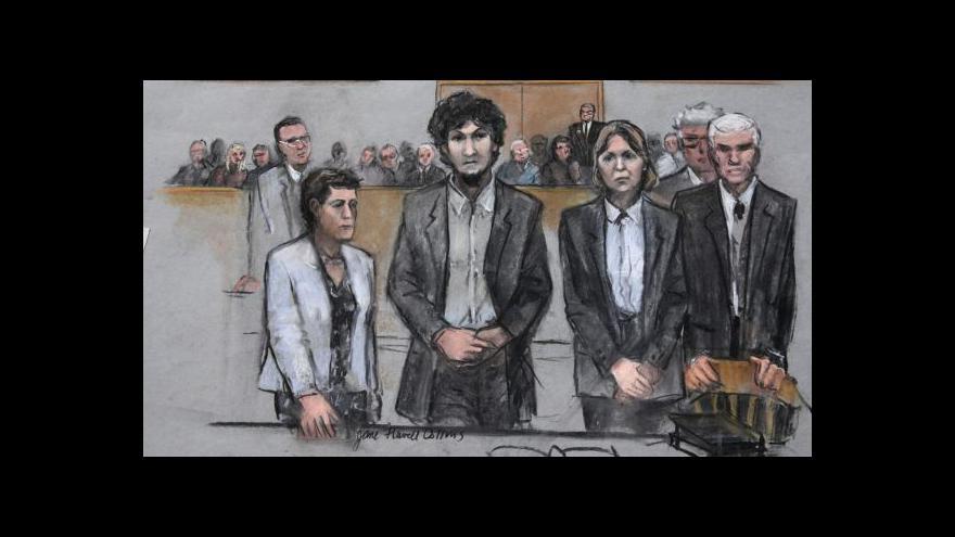Video Soud vynesl trest smrti nad bostonským atentátníkem