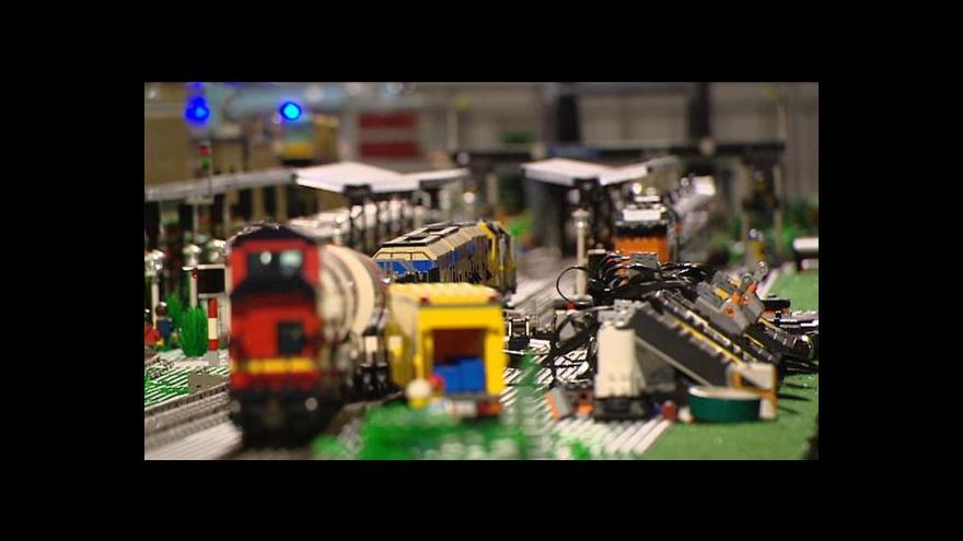Video Na největší výstavu Lega v Česku padlo sedm milionů kostek