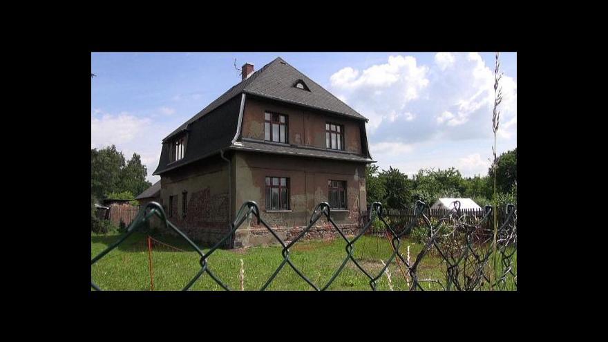 Video UDÁLOSTI: Za domy v Jiřetíně nabízejí těžaři miliony