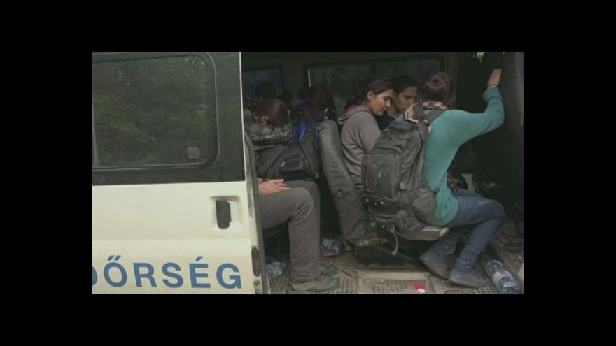 Video Maďarské trable s uprchlíky: Vášně i stížnosti