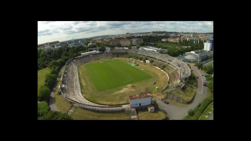Video Podívejte se na letecké záběry stadionu Za Lužánkami