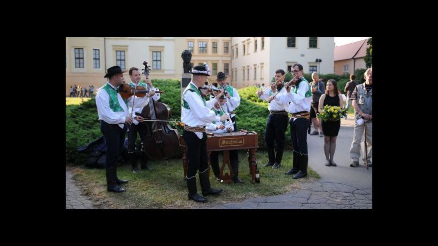 Video Začíná folklorní festival ve Strážnici
