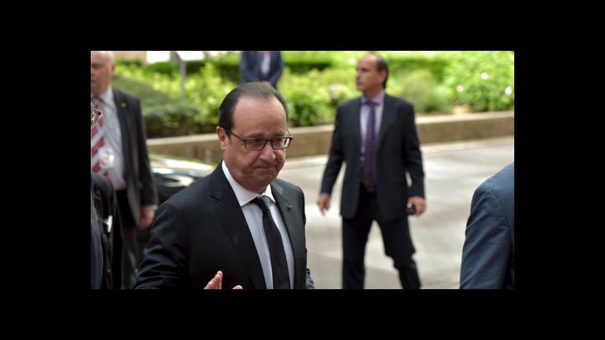 Video Hollande: Emoce nestačí, potřebujeme činy