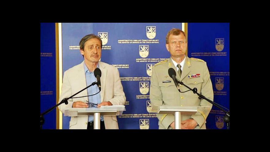 Video Stropnický: Většina lidí podporuje i základní vojenskou službu