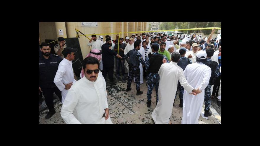 Video Události: K útoku v kuvajtské mešitě se přihlásila odnož IS